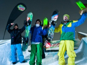 Mt Dew Battle for Supremacy winners Tim Laidlaw and Nate Perry